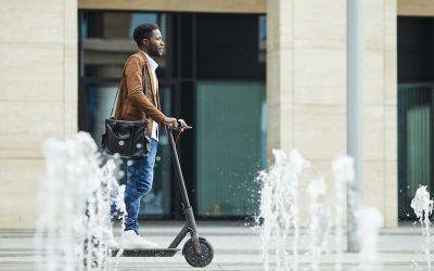 Hoe blijf je veilig op een elektrische scooter