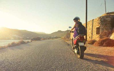 Duurzaam rijden in de stad met een elektrische scooter